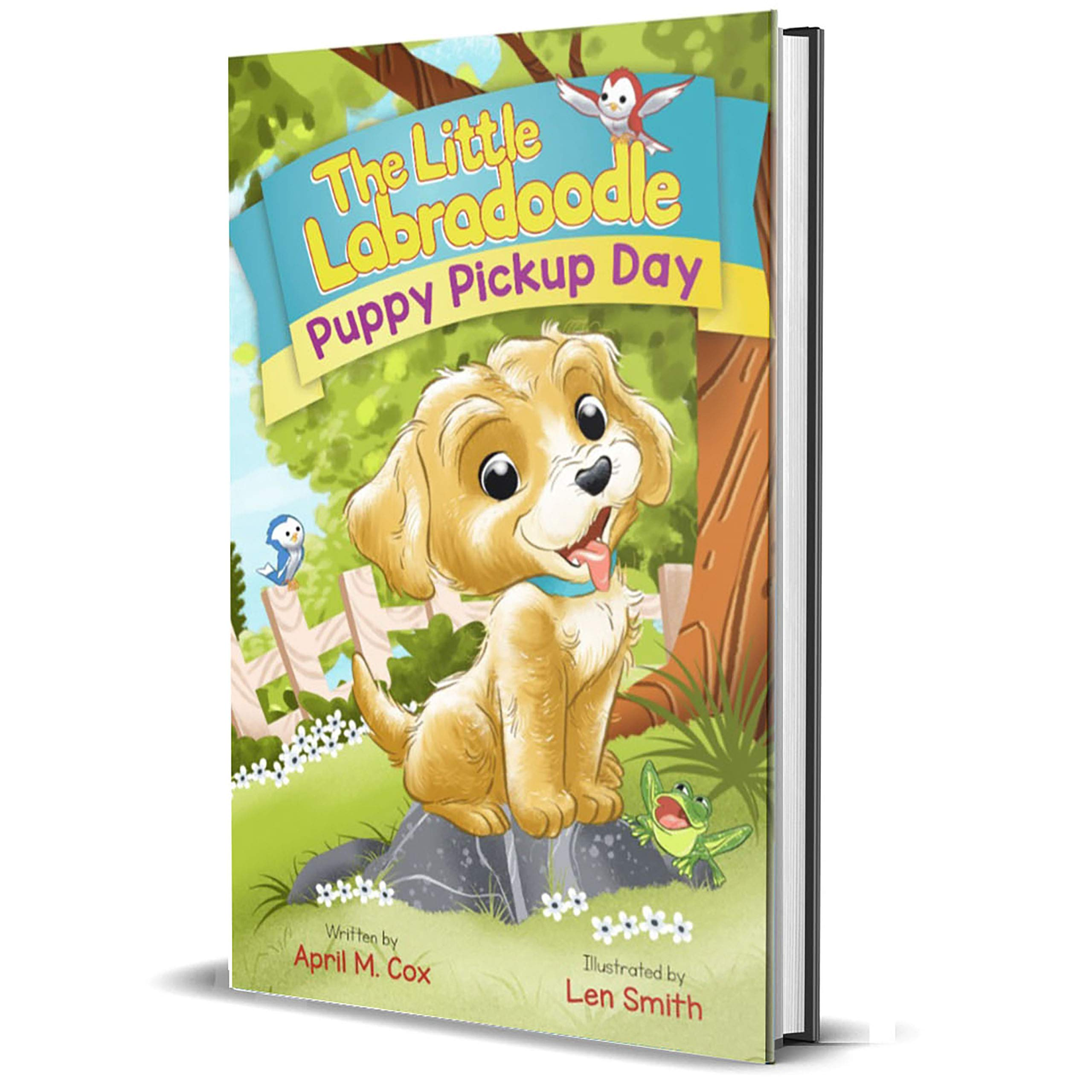 Children's Book Review: The Little Labradoodle Puppy Pickup Day