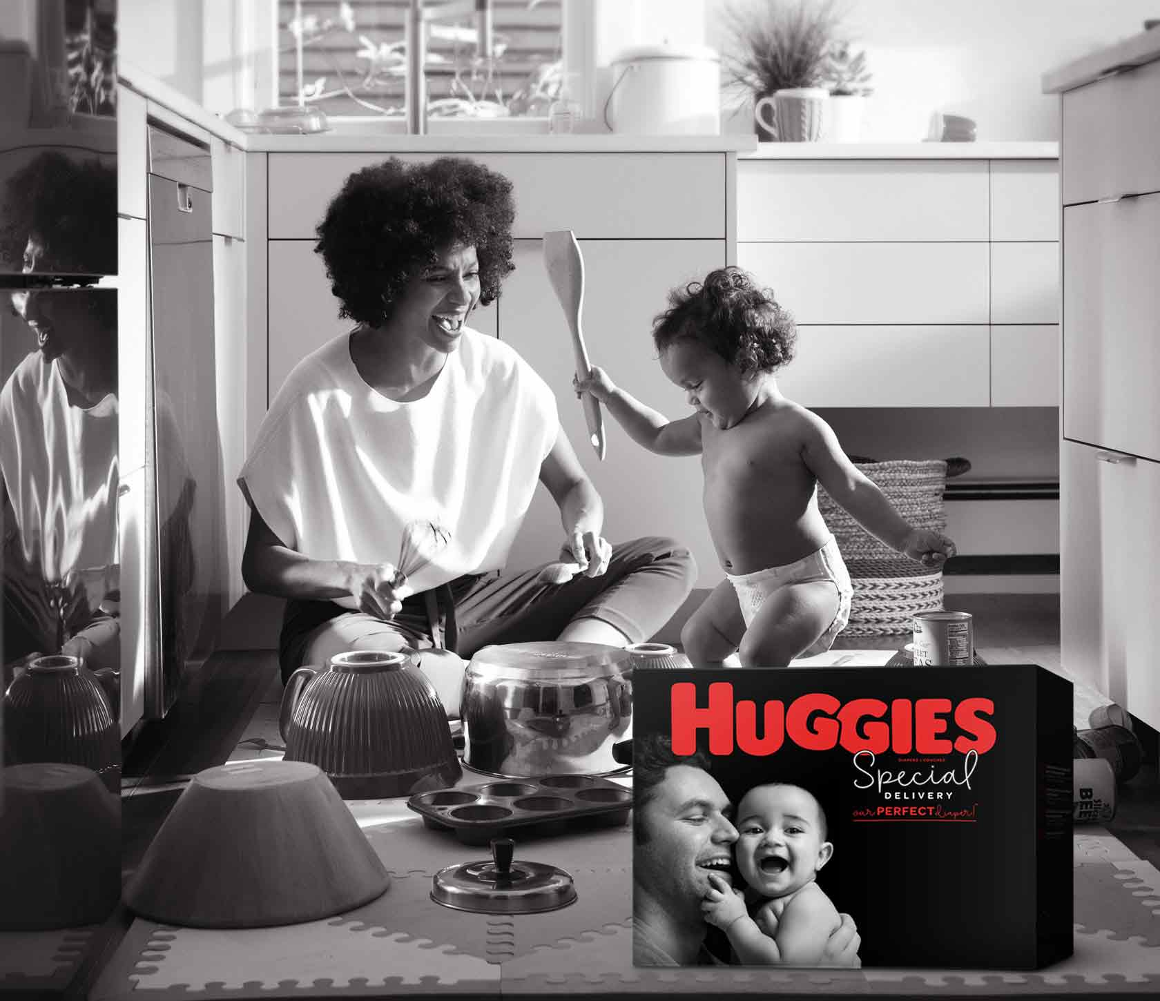 Inspired by Mommas – Made by Huggies®