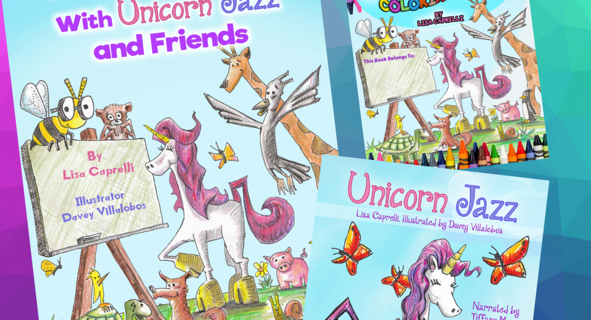 Children's Book Review: Bee-ing Happy with Unicorn Jazz and Friends