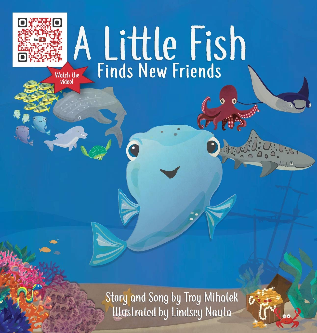 Children's Book Review: A Little Fish Finds New Friends