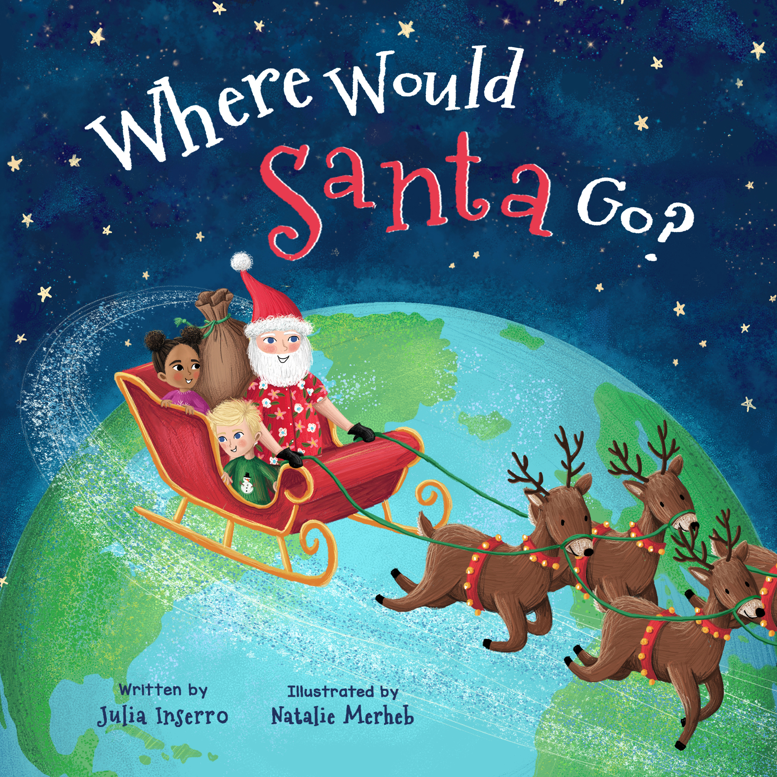 Children's Book Review: Where Would Santa Go?