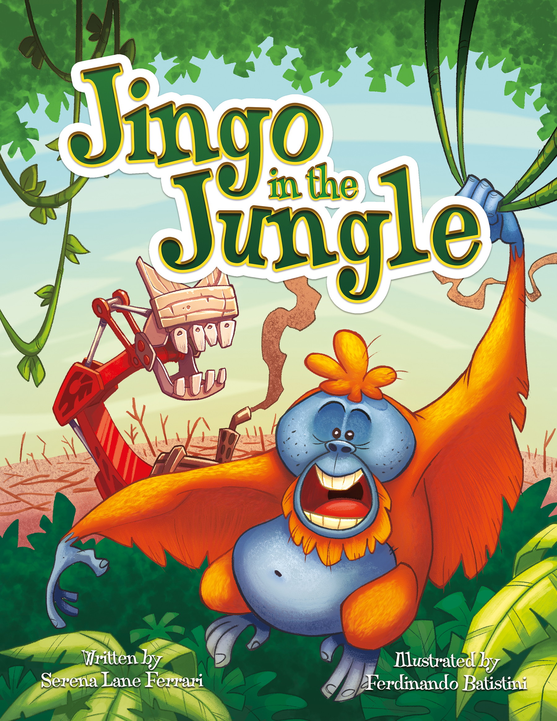 Book Review: Jingo in the Jungle by Serena Lane Ferrari