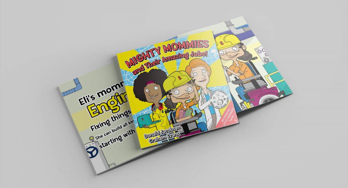 Book Review: Mighty Mommies and Their Amazing Jobs by Donald Jacobsen