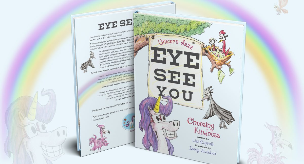 Unicorn Jazz Eye See You: Choosing Kindness Book Review