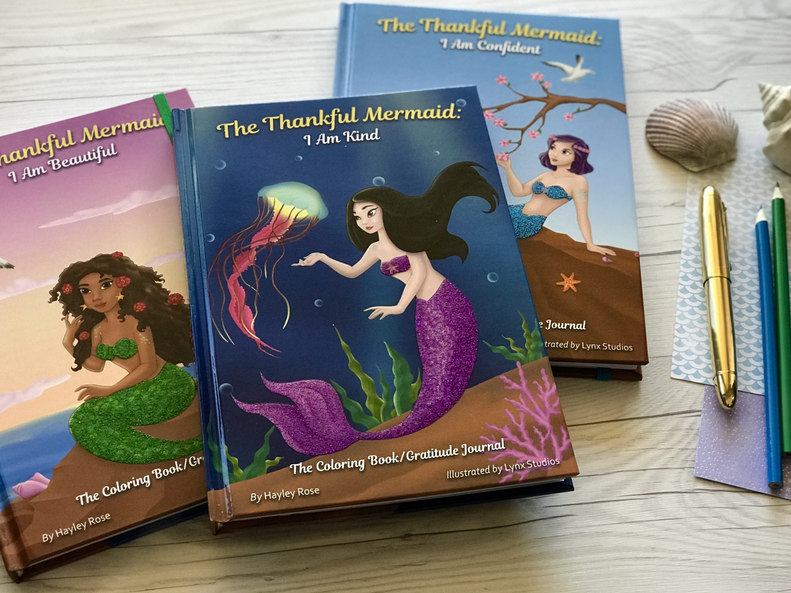 The Thankful Mermaid: A Gratitude Journal for Kids