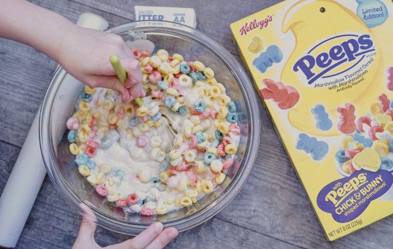 Peeps Marshmallow Treats