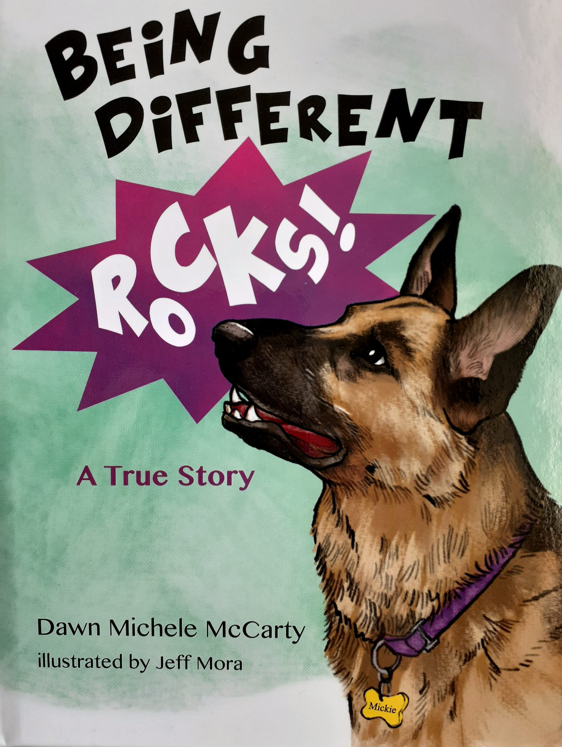 A Wonderful Children's Book: Being Different Rocks!