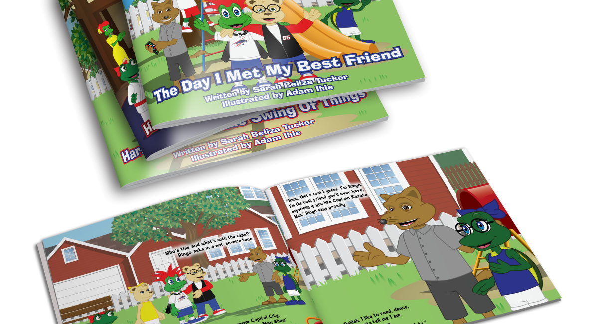 Children's Book Series The Adventures of Harry and Friends