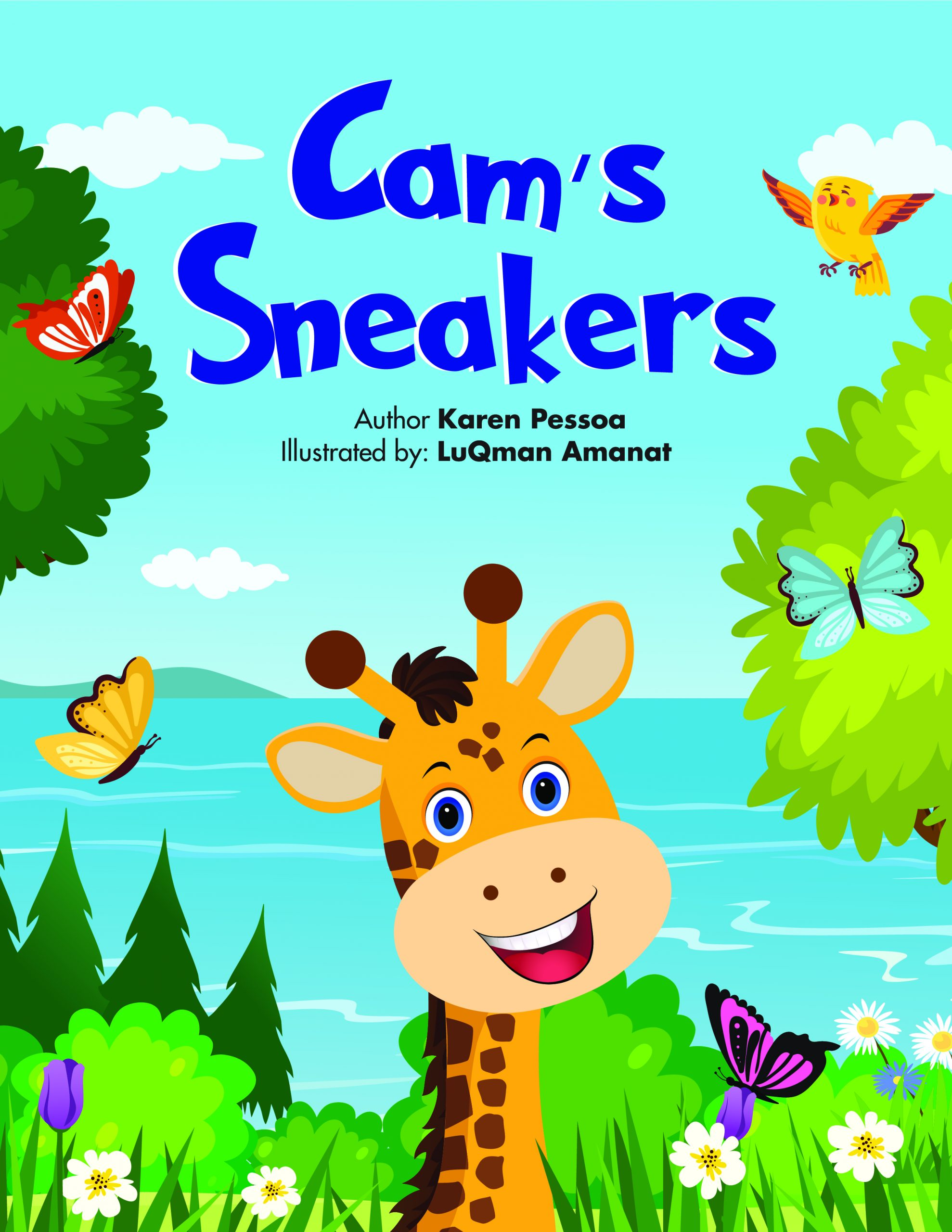 Children's Book Review: Cam's Sneakers