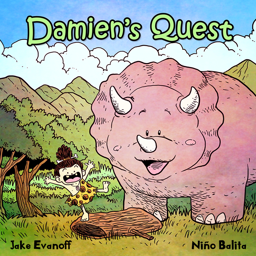 Children's Book Review: Damien's Quest by Jake Evanoff