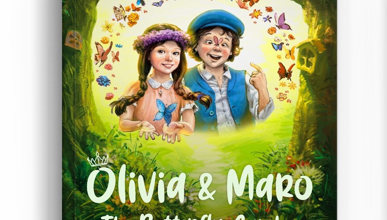 Children's Chapter Book Olivia & Maro: The Butterfly Garden