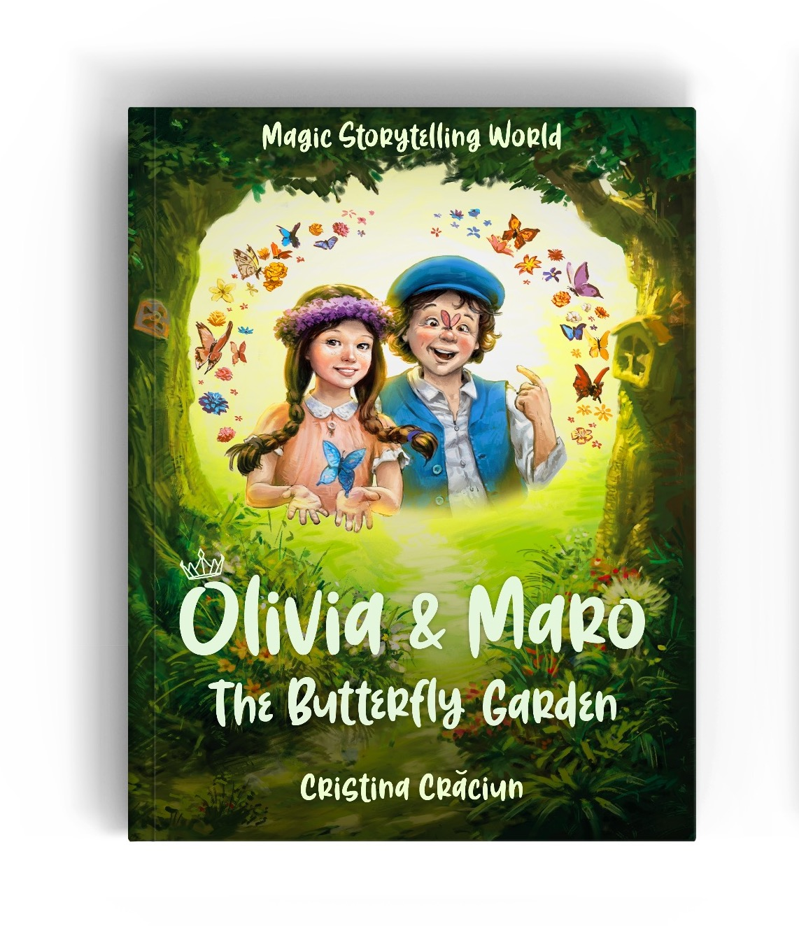 Children's Chapter Book Olivia & Maro: The Butterfly Garden