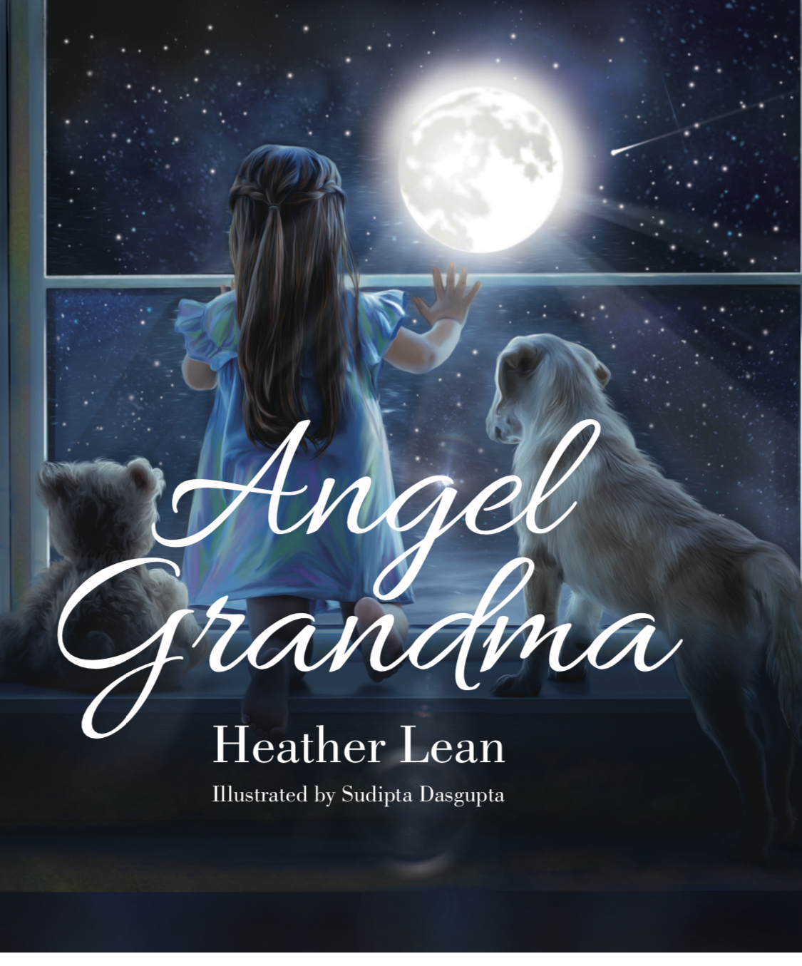 Children's Book Review: Angel Grandma by Heather Lean