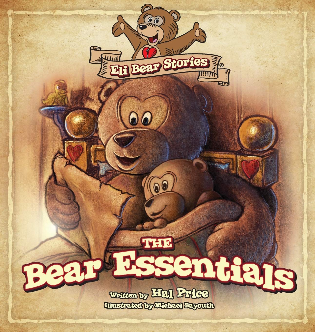 "New Children's Bear Book, ""The Bear Essentials"" by Hal Price"