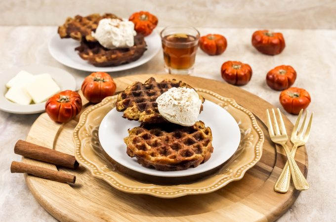 keto pumpkin chaffle recipe