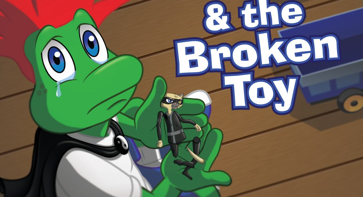 A Children's Book About Responsibility: Harry & the Broken Toy