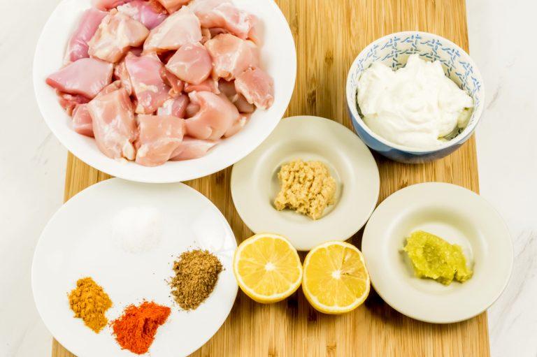 Indian Butter Chicken Marinade Ingredients
