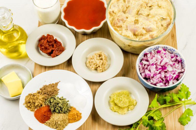 Indian Butter Chicken Sauce Ingredients