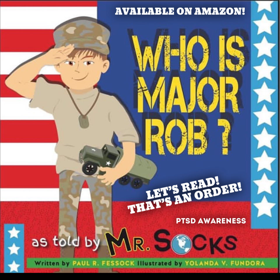 Who Is Major Rob? As Told by Mr. Socks – An Intro to PTSD