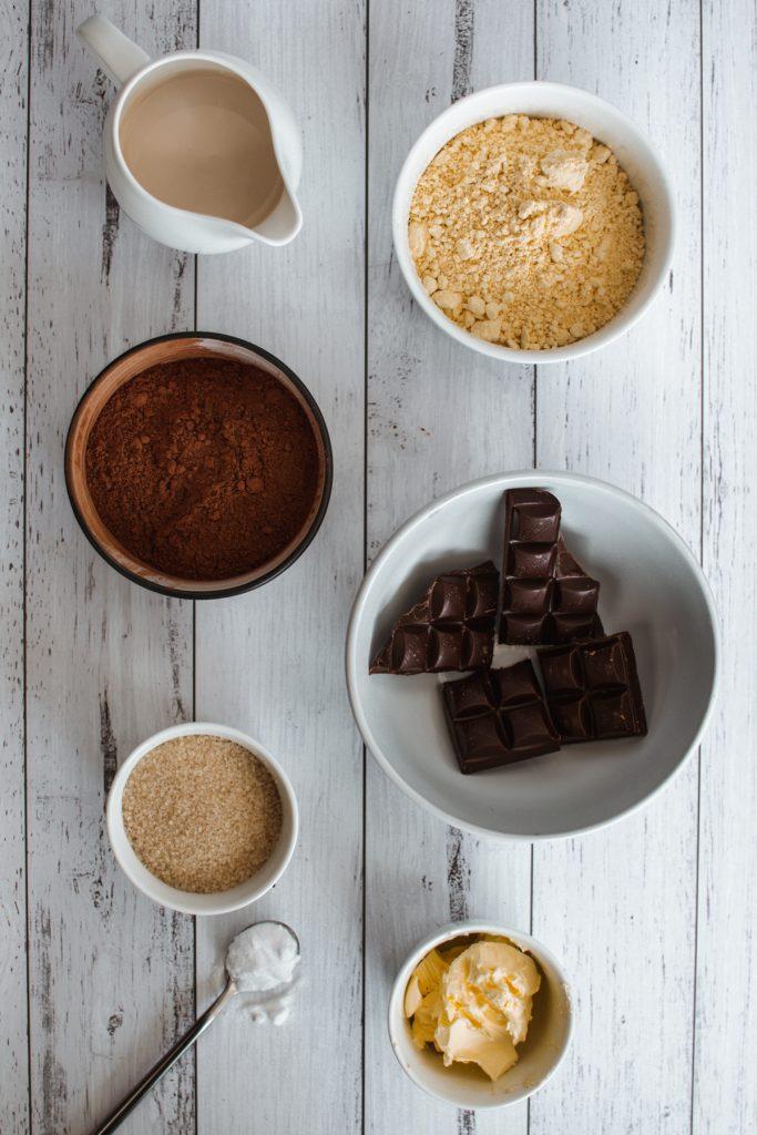 Flourless Cake Ingredients