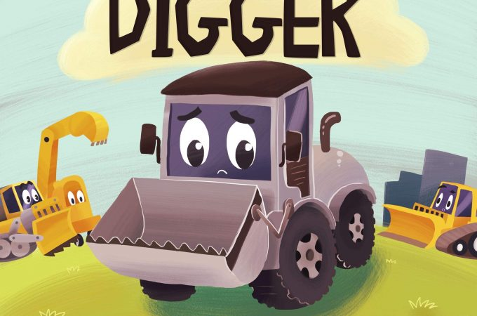 the little gray digger