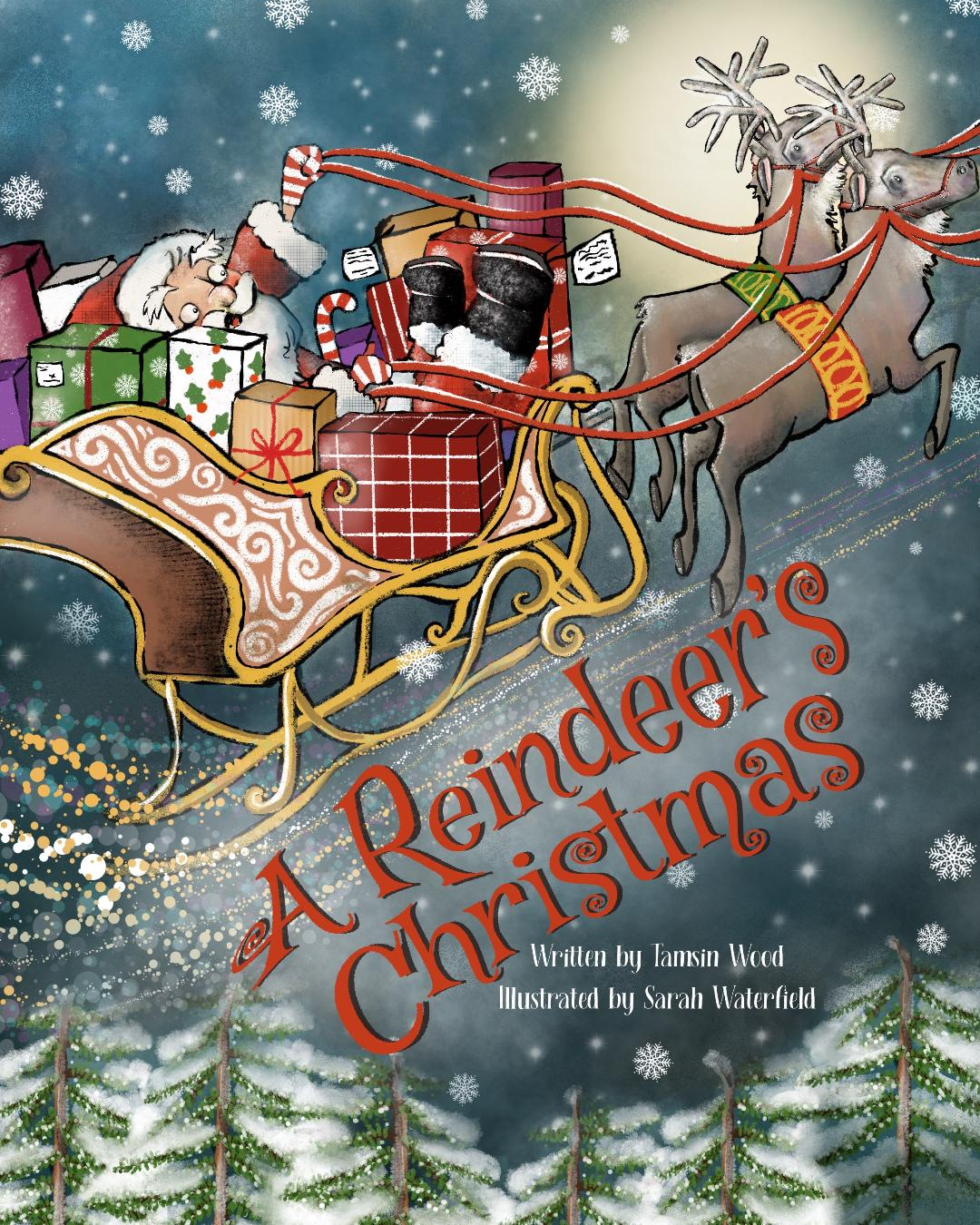 A Reindeer's Christmas by Tamsin Wood Children's Book Review