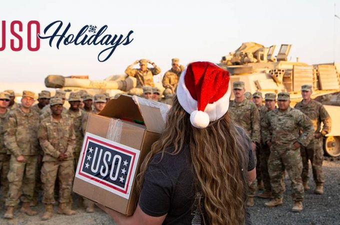 give back to our troops during the holiday season