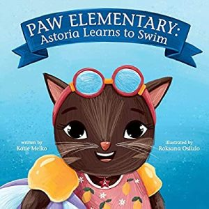 paw elementary: astoria learns to swim