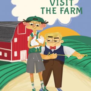burgerhead and mean jerry visit the farm