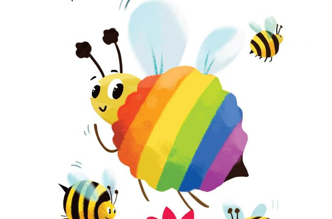 the rainbow bee