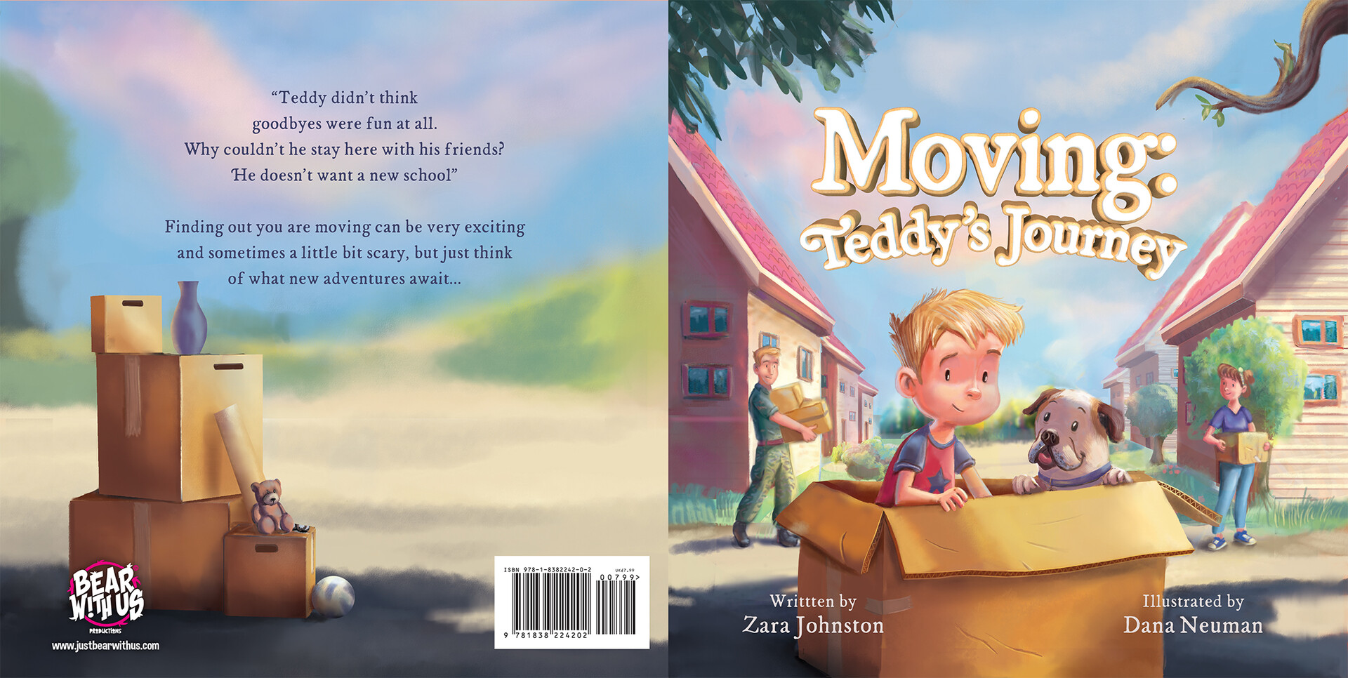 Moving Teddy's Journey Book Review