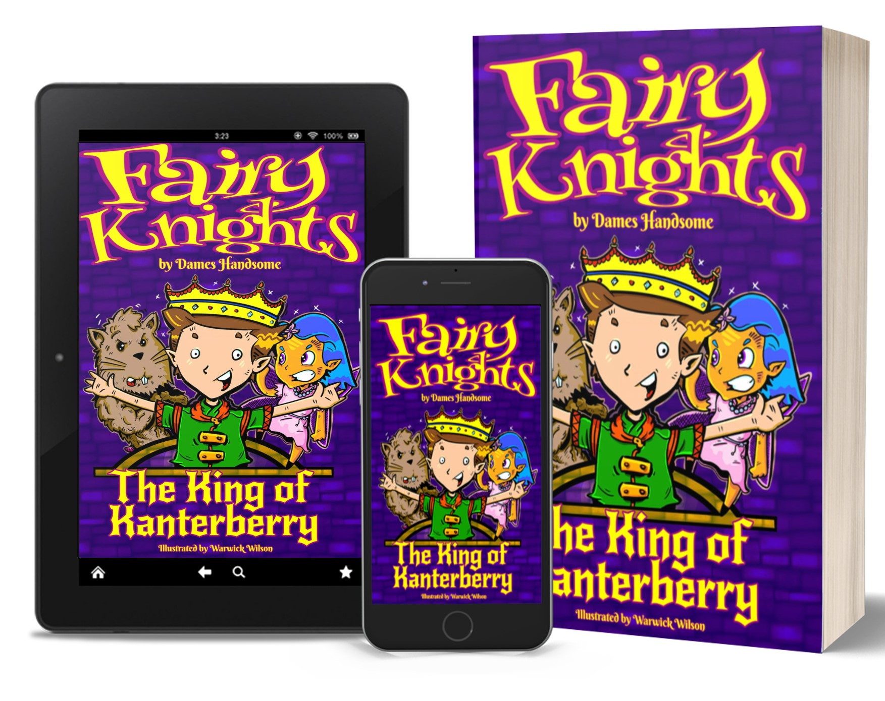 Fairy Knights: The King of Kanterberry Book Review