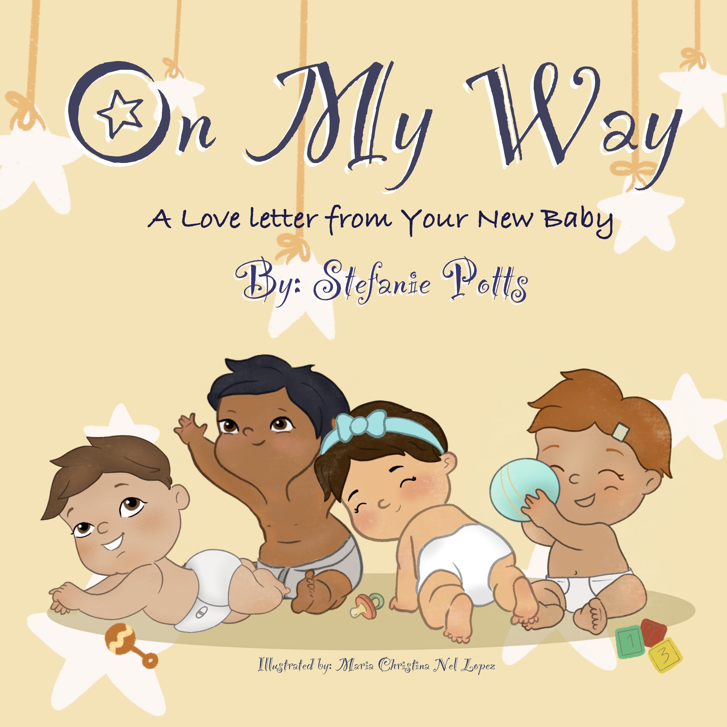 On My Way: A Love Letter From Your New Baby Book Review