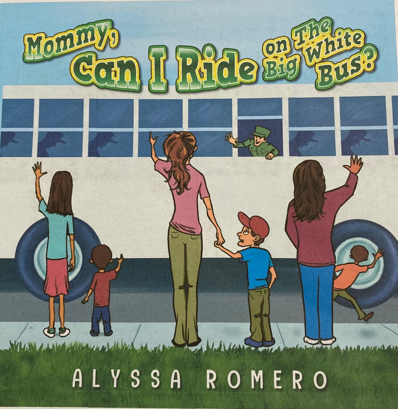 Mommy Can I Ride on The Big White Bus? Book Review