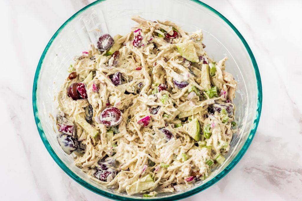 cranberry and pecan chicken salad